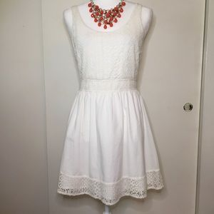 Red Camel white summer dress.